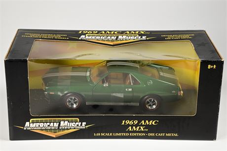 ERTL American Muscle 1969 AMC AMX Limited Edition