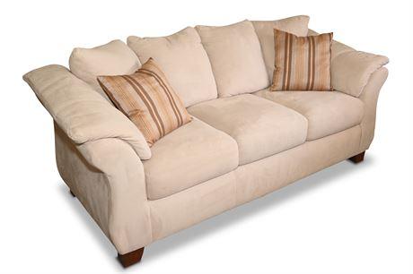 Genesis Microsuede Sofa
