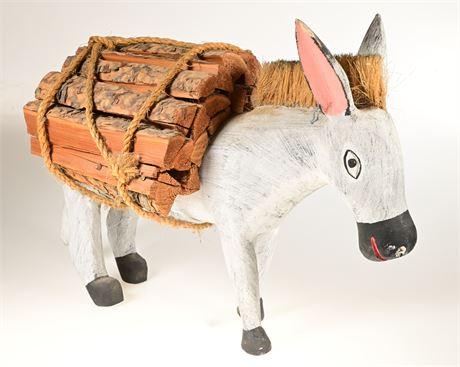 Folk Art Burro by Hector Rascon