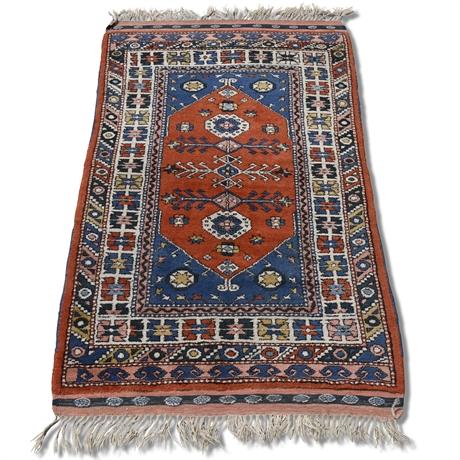 Hand Woven Tribal Wool Rug
