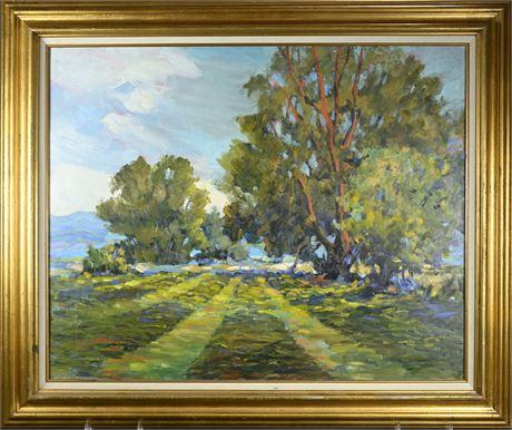 "Earline Barnes ""Alfalfa Field"""
