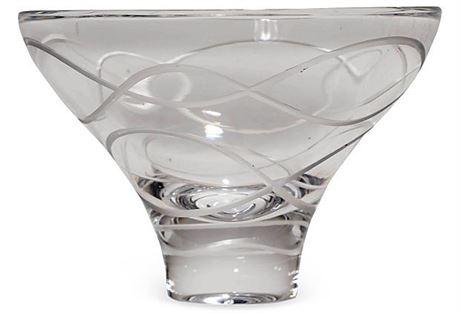 Nambe Crystal Bowl