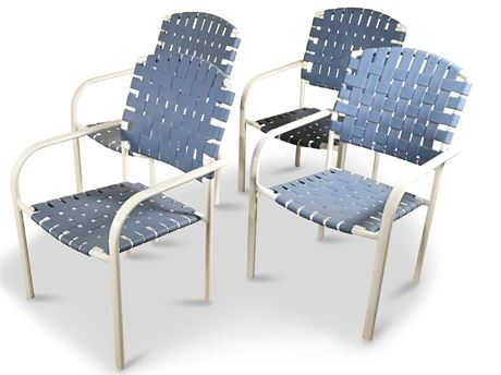 Set of Five Patio Chairs