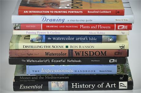 Art History and Instruction Books