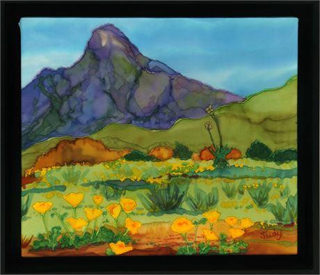 Judy Licht Painting on Silk