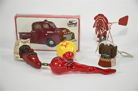 New Mexico Christmas Ornaments
