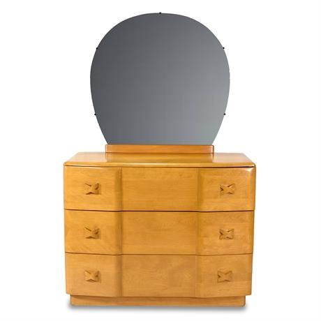 Vintage Heywood-Wakefield Dresser With Mirror