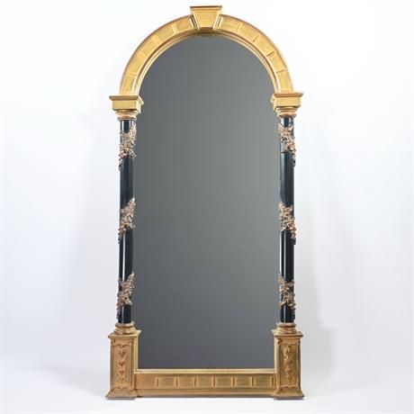 Vintage Arched Empire Mirror