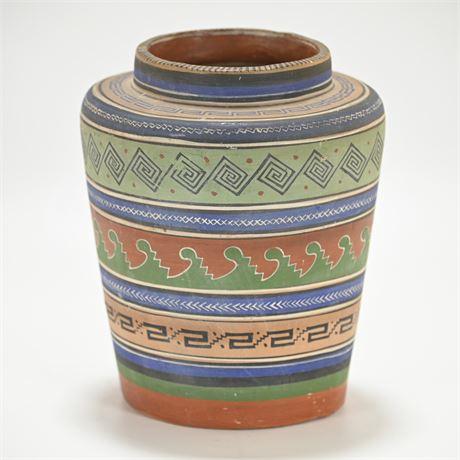 Vintage Tonala Vase Unburnished