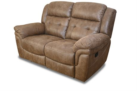 Reclining Loveseat Anastasia Collection by Steve Silver