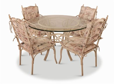 Douglas Furniture Wrought Iron Dining Set