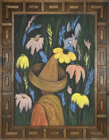 Helen Yarbrough 1960's Las Cruces Folk Art