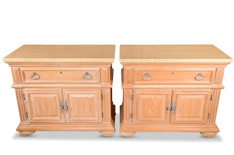Pair of American Drew Chests