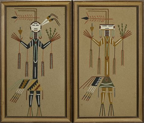 Navajo Sand Paintings