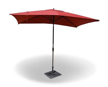 Hampton Bay 10' Rectangular Umbrella