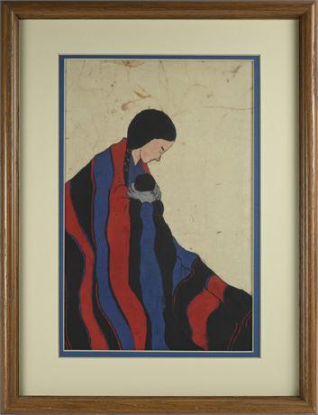Dolores Smith Batik on Silk