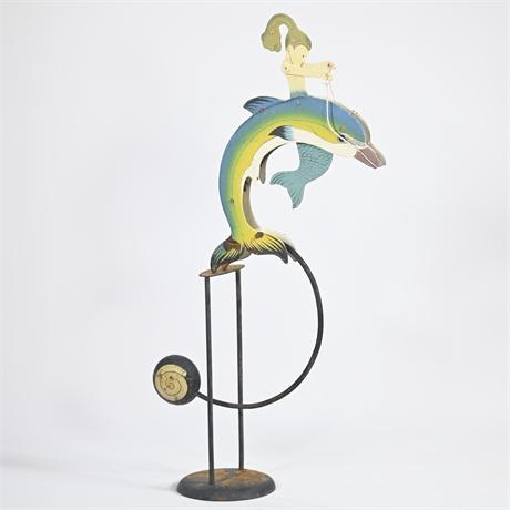 Mermaid Dolphin Pendulum Balance Toy