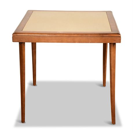 Folding Wood Card Table