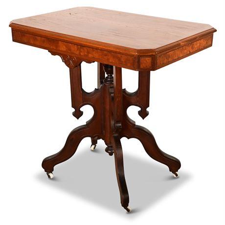 Victorian Era Eastlake Side Table
