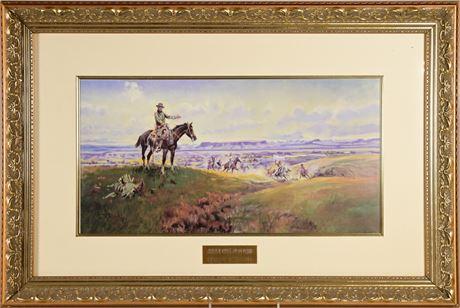 Charles Russell Framed Print
