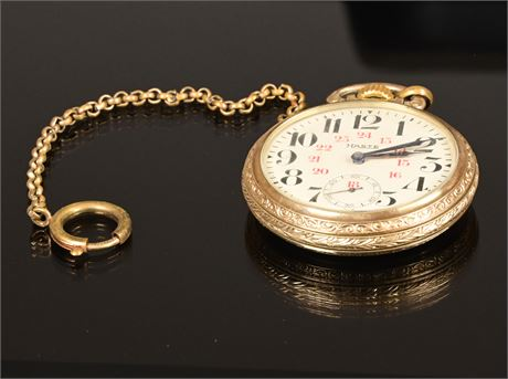 Hasted Railroad Pocket Watch