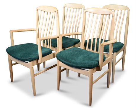 Set of Four Benny Linden Dining Chairs