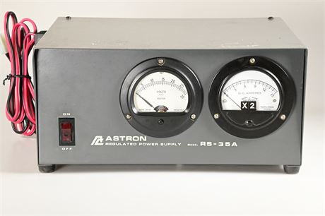 Astron RS-35M Regulated DC Power Supply