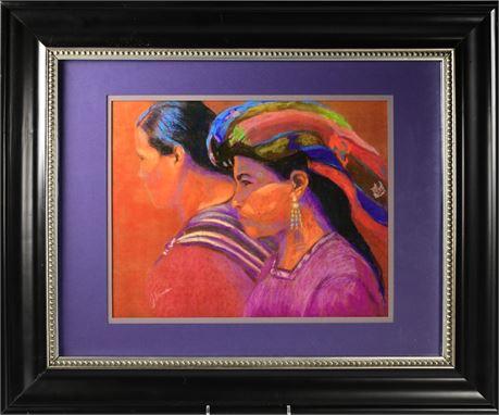 Mujeres Framed Art