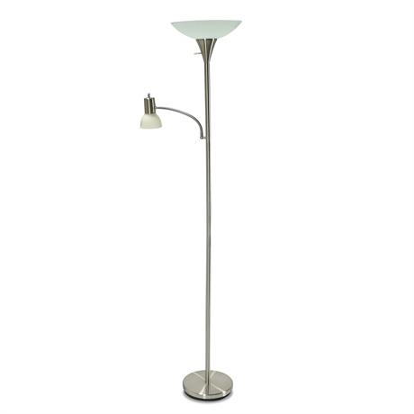 Double Head Floor Lamp