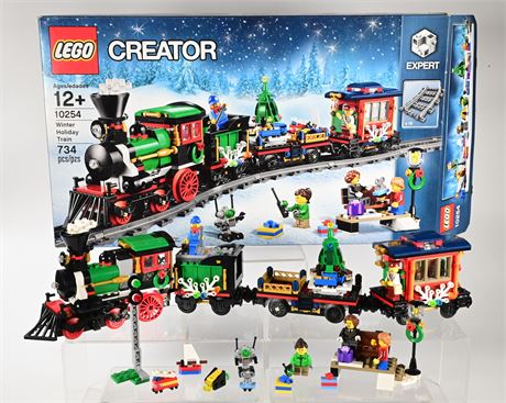 Lego Creator Winter Holiday Train
