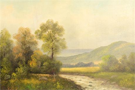 Antique Landscape by Stroh
