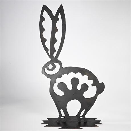 Mimbres Style Rabbit Sculpture
