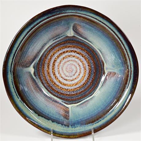 "Bill Campbell 12"" Stoneware Serving Bowl"