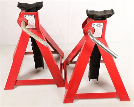 Pair of 6 Ton Jack Stands
