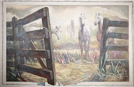 """Ken Barry """"The Old Gate"""""""