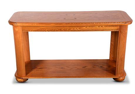 Classic Oak Sofa Table