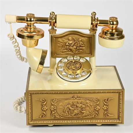 Vintage Deco-Tel French Provincial Telephone