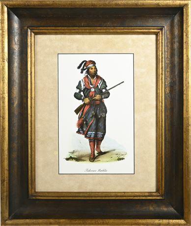 Framed Tuko See Mathla Print