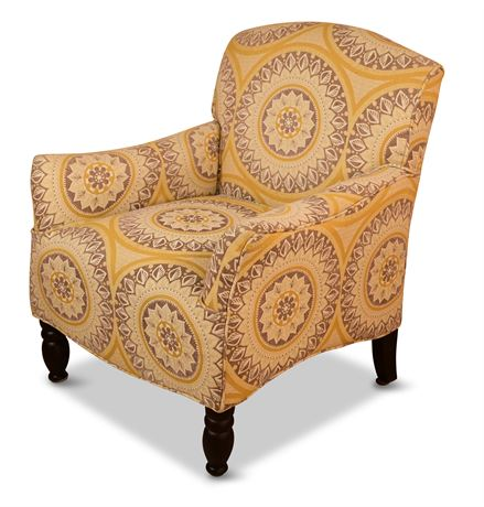Frankie Gold Suzani Armchair