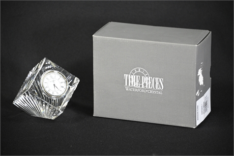 Timepieces Waterford Crystal