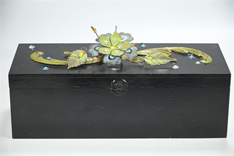 Artist Embellished Wine Gift Box