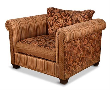 Rowe Bolster Armchair