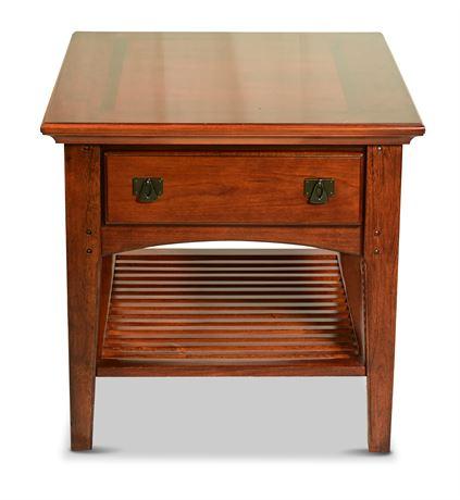 Mission Oak Side Table