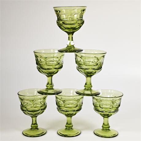 Argus Glass Fostoria Sherbets