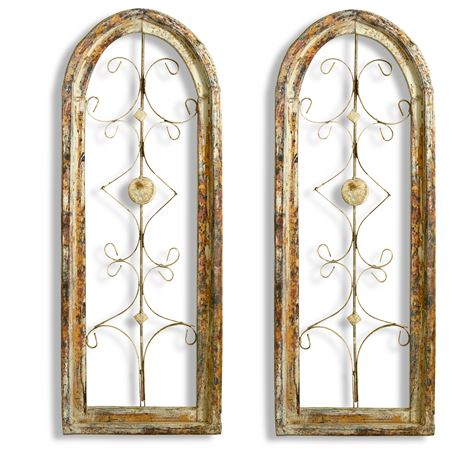 Arched Metal Wall Art