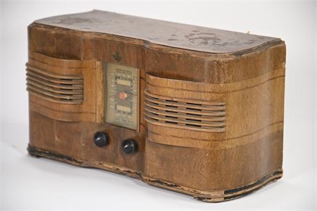 Antique Ingraham Emerson Radio Cabinet