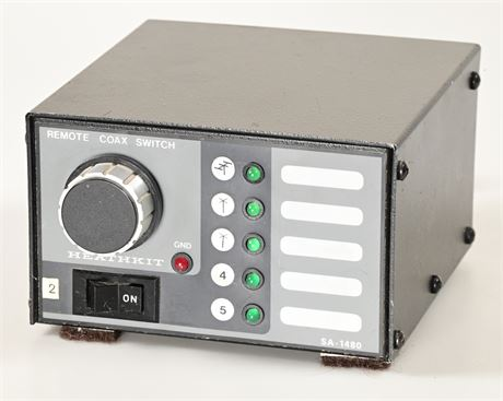 Heathkit SA-1480 Remote Coax Switch