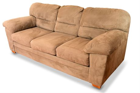 Plush Sofa by Stratford