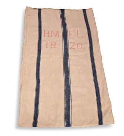 1820 Hemp Grain Sack
