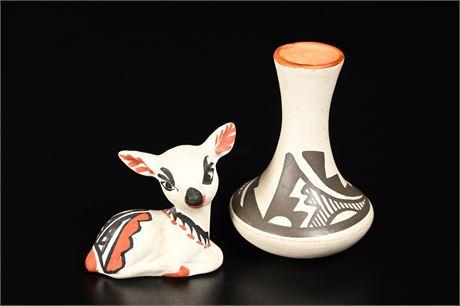 Isleta Pueblo Pottery